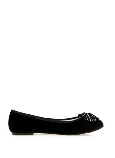 Ves Ayakkabı Babet Siyah